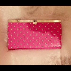 Handbags - New clutch with silver hearts