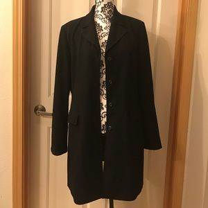 Apostrophe Jackets & Blazers - EUC Gorgeous Fully Lined Black Blazer