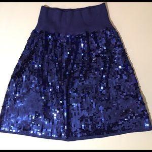 Dresses & Skirts - Blue sequin skirt