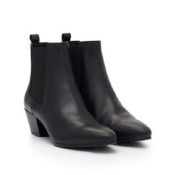 71b441c7e6a95 Black Booties - Sam Edelman - Reesa Chelsea Boot