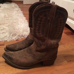 Dan Post Shoes - Snip toe cowboy boots