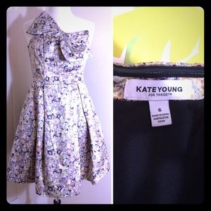 Kate Young For Target Bow Strapless Dress Size 6