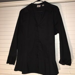 Lee Tops - Riders black button down