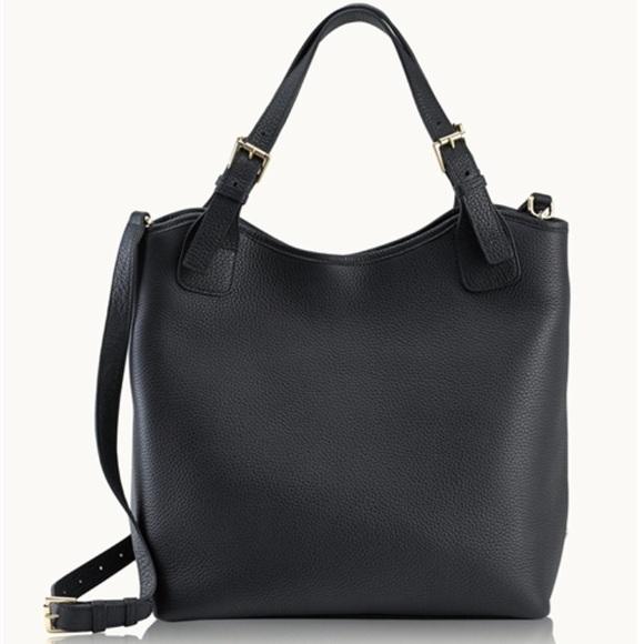 GiGi New York Bags - GiGi New York Black Olivia Shopper Tote