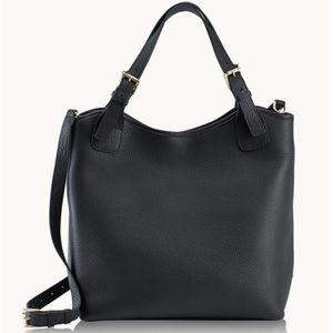 GiGi New York Black Olivia Shopper Tote