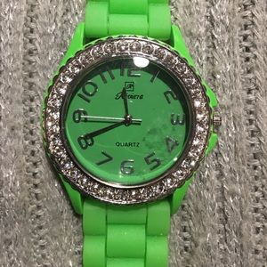 Riviera Jewelry - Green Riviera jelly watch crystals authentic