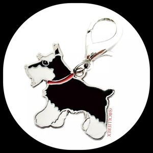 Accessories - Schnauzer Dog Keychain