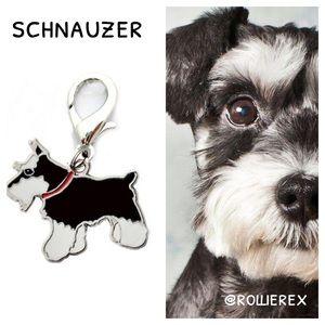 Accessories - Schnauzer Dog Keychain