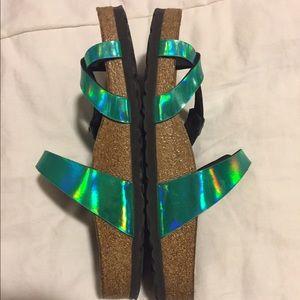 aa7d5997211 Birkenstock Shoes - Iridescence of Wonder Birkenstock