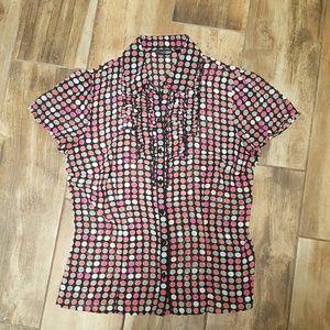East 5th Tops - East 5th Polka dot blouse