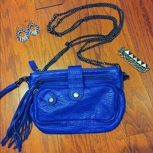 Deena & Ozzy Handbags - Cobalt Blue Crossbody Bag ⚡️