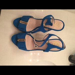 Shoes - New Vince Camuto blue sandals