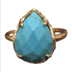 Kendra Scott Jewelry - Kendra Scott Turquoise Pear Shape Ring