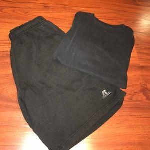 Banana Republic Other - Black Shirt & Shorts Combo
