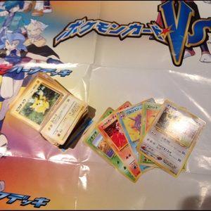nintendo Other - Japanese Pokémon. Cards 105