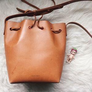 Mansur Gavriel Handbags - Mansur Gavriel Mini Leather Becket Bag