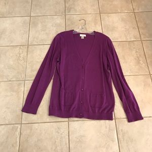 LOFT Cardigan - Size XL