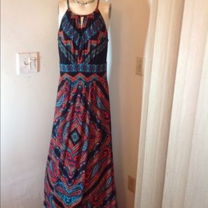 London Times Dresses & Skirts - NEW WITHOUT A TAG COLORFUL MAXI DRESS