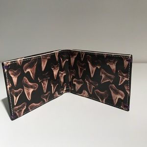 Paul Smith Other - Paul Smith Leather Wallet Shark Tooth