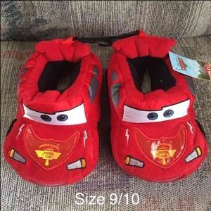 Other - Disney Cars Slippers Size 9/10