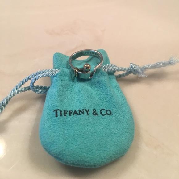 5f94c2481 Tiffany & Co. Jewelry   Tiffany Co Vintage Hook Eye Ring Size 5 12 ...
