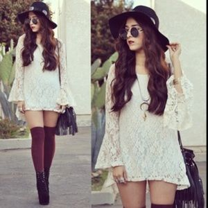 Love Stitch Dresses & Skirts - 🌟 LOVE STITCH boho lace dress