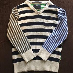 Scotch Shrunk Other - Striped sweater by Scotch Shrunk for boys