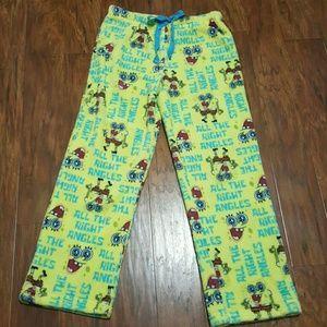 Nickelodeon Other - SPONGEBOB Fleece Pajama Bottoms