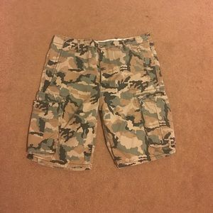 Levi's Other - Levi Strauss & co cargo short camouflage