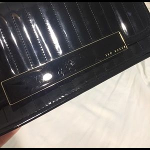 Ted Baker Bags - SALE 🎉 Ted Baker Black Patent Clutch