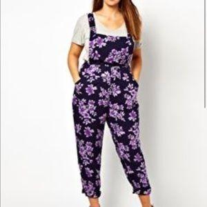 Other - Asos Curve Floral Jumpsuit
