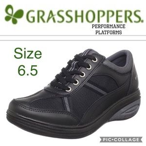 Grasshoppers Shoes - Women's Performance Platforms by Grasshoppers 6.5