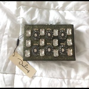 MOVING SALE ❗️Jeweled Box Clutch