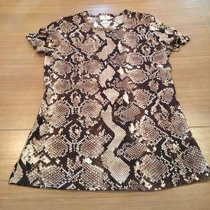 Altuzarra Tops - Snake Skin Printed Altuzarra Top Sz M