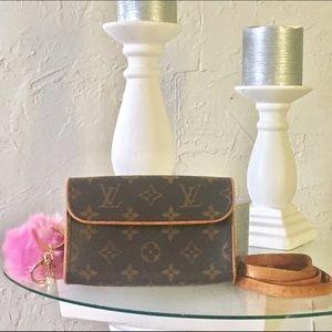Louis Vuitton Handbags - 💯% Authentic Louis Vuitton pouchette bum bum bag