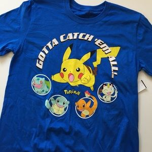 Pokemon Other - 🆕BRAND NEW Blue Pokémon Men's Tee