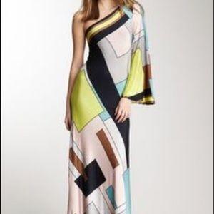 analili Dresses & Skirts - Analili One Shoulder Long Sleeve Maxi Dress