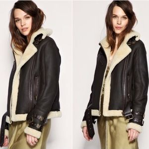 Topshop Shearling Jacket