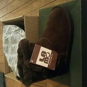 Lamo Shoes - Lmao Chocolate Suede Boots Size 7