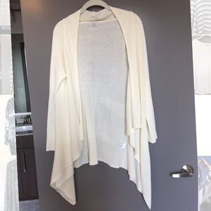 Tobi Other - Long cream cardigan