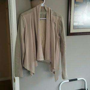 Evereve Jackets & Blazers - Vegan leather drape jacket
