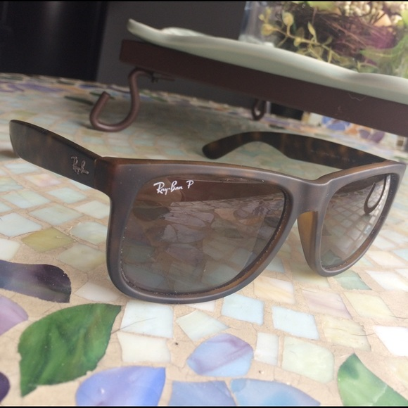 a0399bd07d6e Ray Ban Justin Sunglasses Polarized Havana rubber.  M 58bedf2299086ac0fe007824. Other Accessories ...
