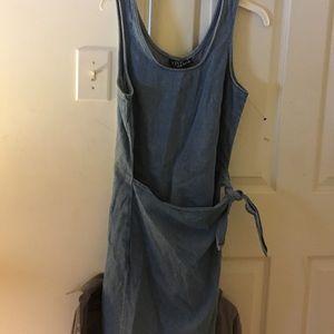 Adorable jean dress