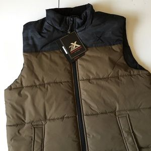 ZeroXposur Other - 🆕NWT Olive & Black Puffer Vest Men's