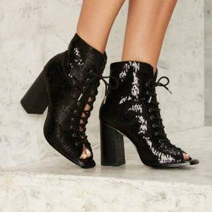Miista Shoes - 🎉HP🎉 E8 by MIISTA Teal Sequin Bootie