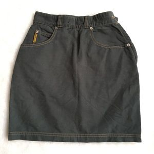 Armani Jeans Tulip Style Jeans Skirt size 2