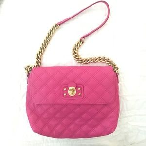 MARC JACOBS Pink Quilted Handbag