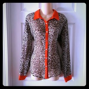 Charming Charlie Tops - Charming Charlie Blouse Size Large