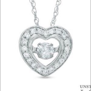 Zales Jewelry - Unstoppable love necklace from Zales