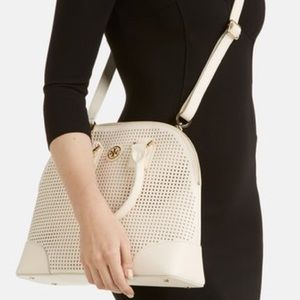 Tory Burch Handbags - Tory Burch Perforated Robinson Dome Satchel